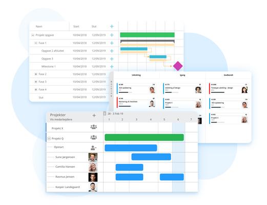 Gantt Pro Planning Pro and Kanban