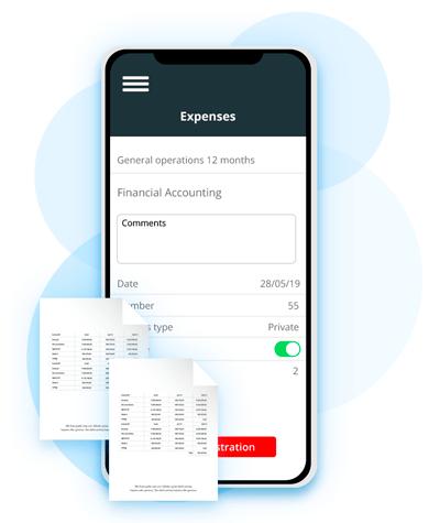 Udlaeg og Koersel i EazyPoject App