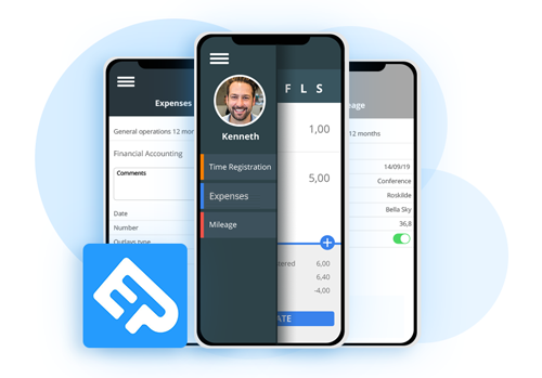 App tidsregistrering på mobil