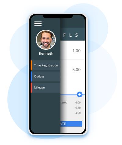 Timeregistrerings App til timeforbrug